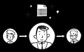 電子承認・電子決裁ワークフローシステムで業務プロセスの可視化